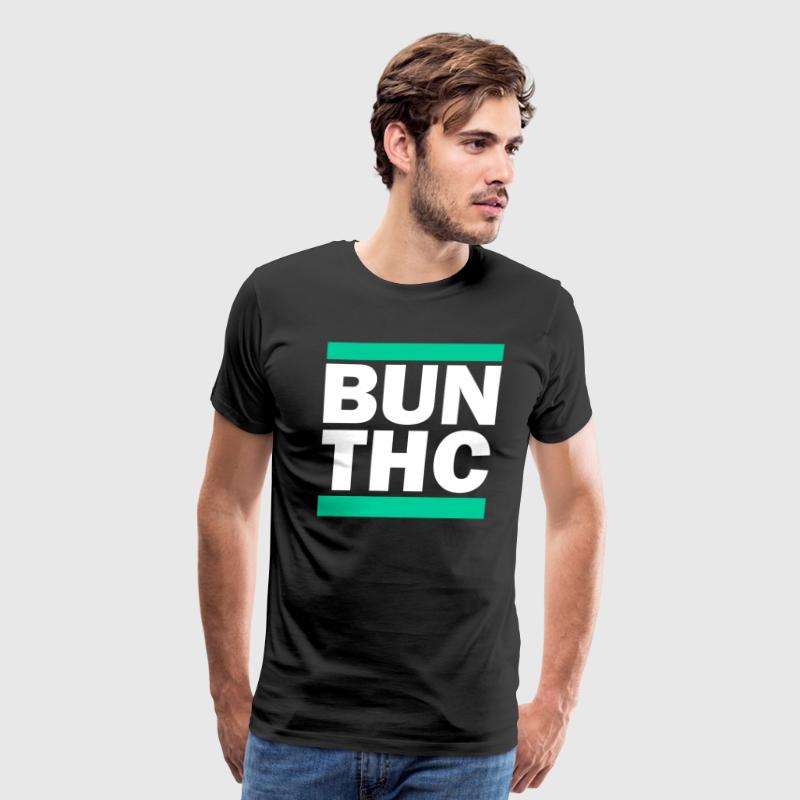BUN THC 420 RUN DMC Logo Parody - Men's Premium T-Shirt