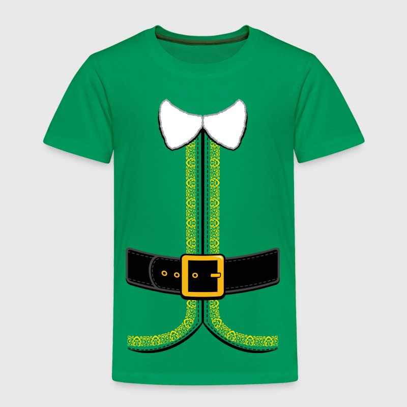 Christmas Elf Costume for Kids and Adults Baby & Toddler Shirts - Toddler Premium T-Shirt