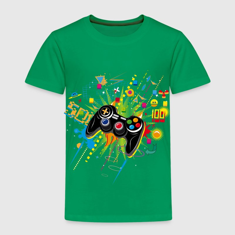 Gamepad Video Games Baby & Toddler Shirts - Toddler Premium T-Shirt