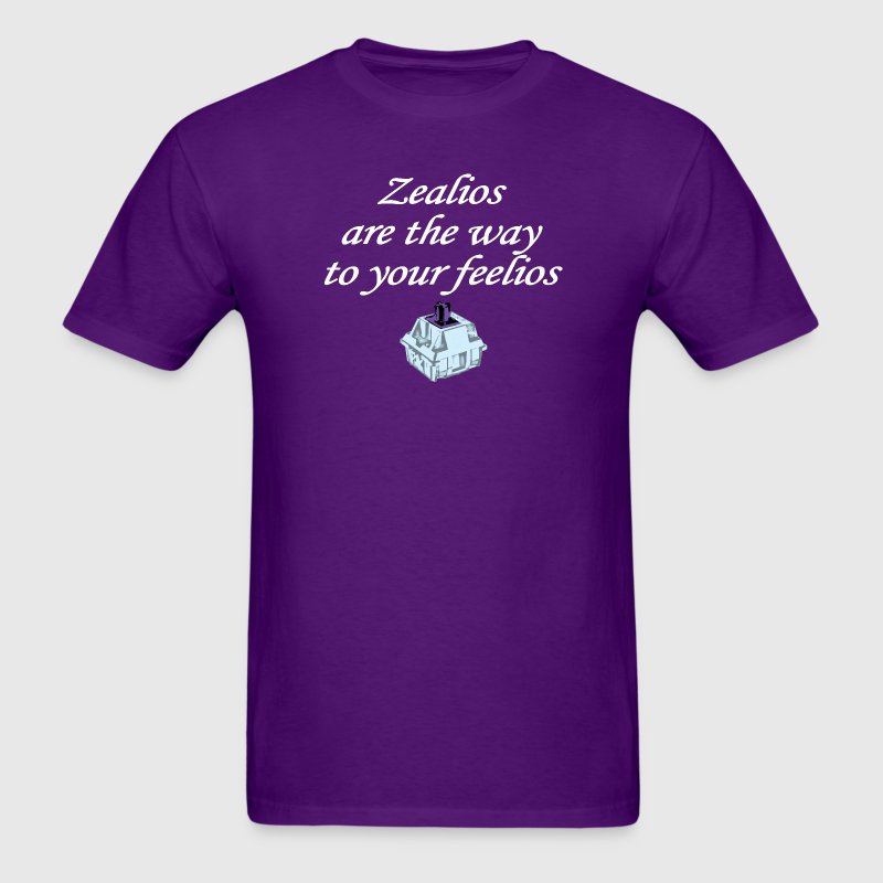Zealios are the way to your feelios - Men's T-Shirt