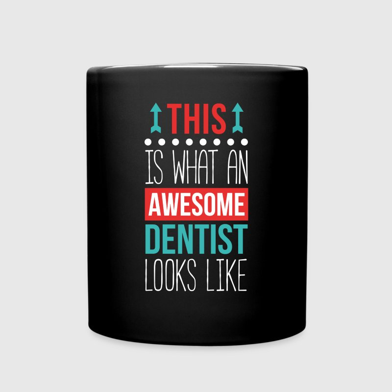Dentist Awesome Professions Dental T Shirt Mugs & Drinkware - Full Color Mug