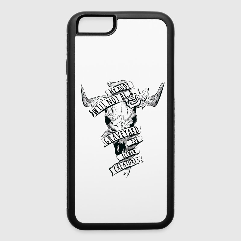 Not a Graveyard Accessories - iPhone 6/6s Rubber Case