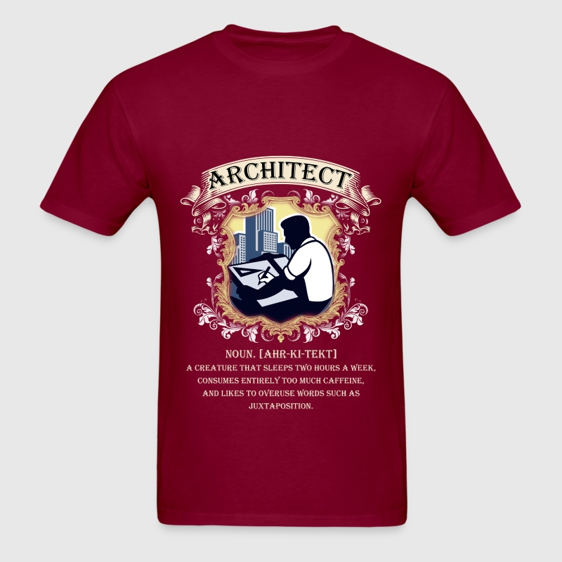 Architect - Noun [ahr-ki-tekt] - Men's T-Shirt