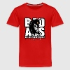 Bad Ass Unicorn Kids' Shirts - Kids' Premium T-Shirt