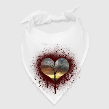 bleeding heart Mugs & Drinkware - Bandana