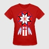 Tripartite Mi'Kmaq Forum Symbol and Flag - Women's T-Shirt