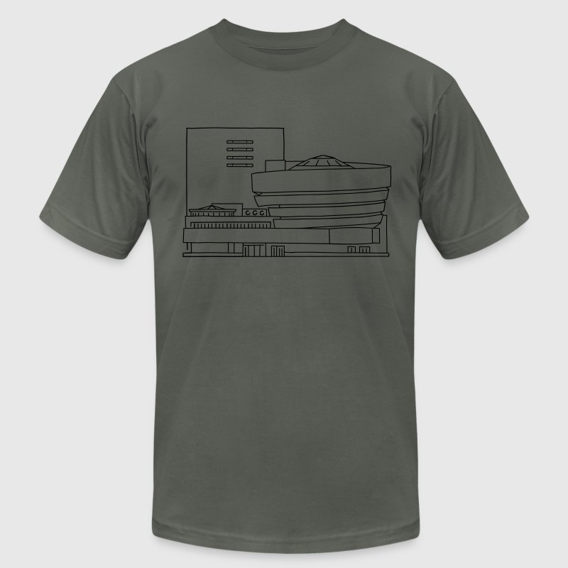 The Guggenheim New York T-Shirts - Men's T-Shirt by American Apparel