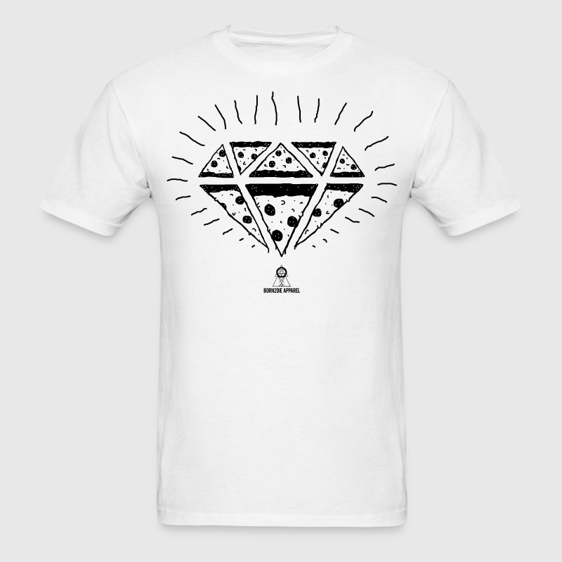 Pizza Diamond T-Shirts - Men's T-Shirt