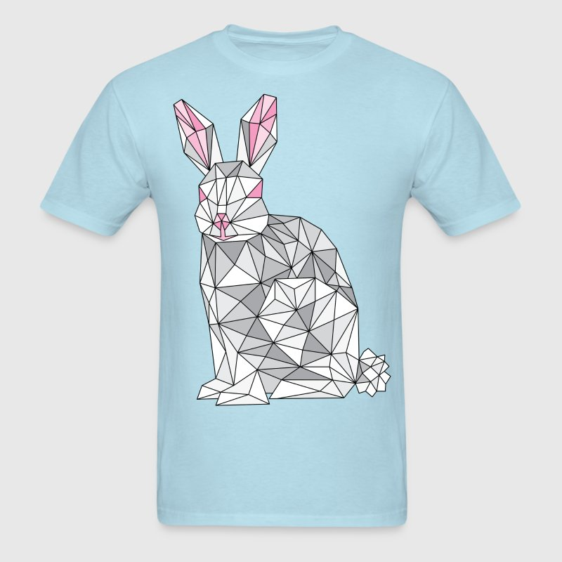 Geometric Rabbit T-Shirts - Men's T-Shirt