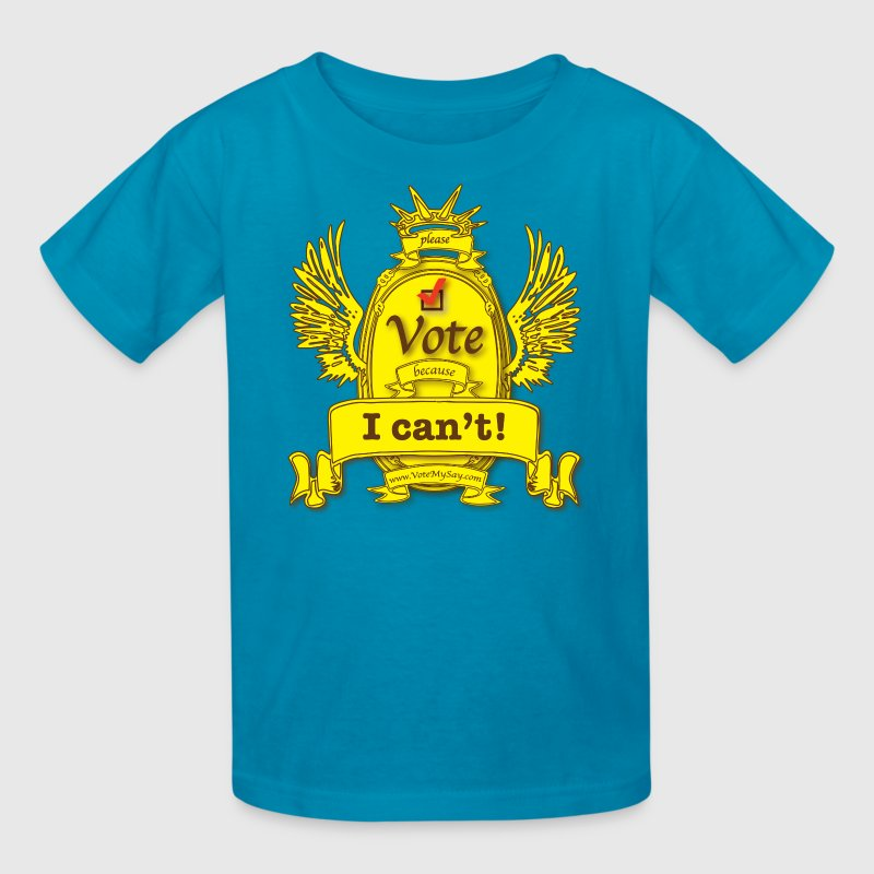 Help, Help, I Can't Vote! - Kids' T-Shirt
