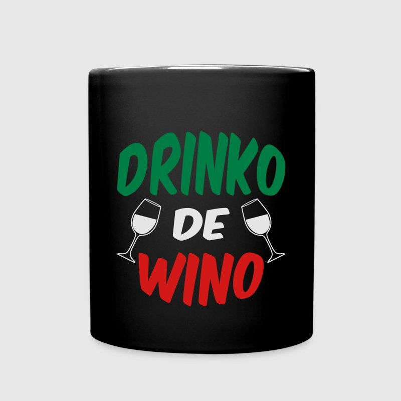 Drinko De Wino Cinco Mayo Mugs & Drinkware - Full Color Mug
