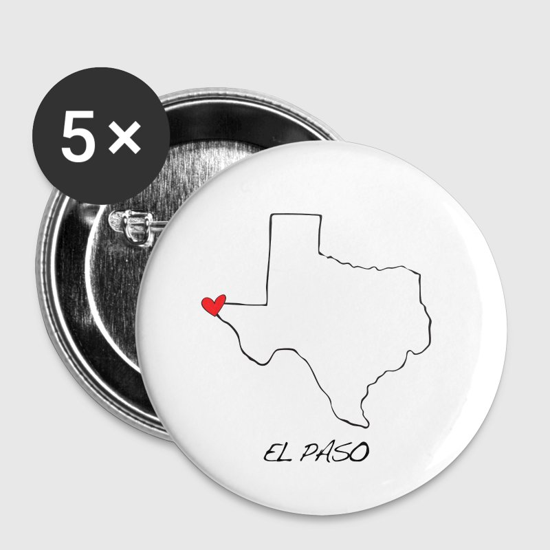 El Paso Heart Pin - Small Buttons