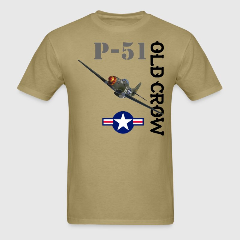 P-51 Old Crow T-Shirts - Men's T-Shirt