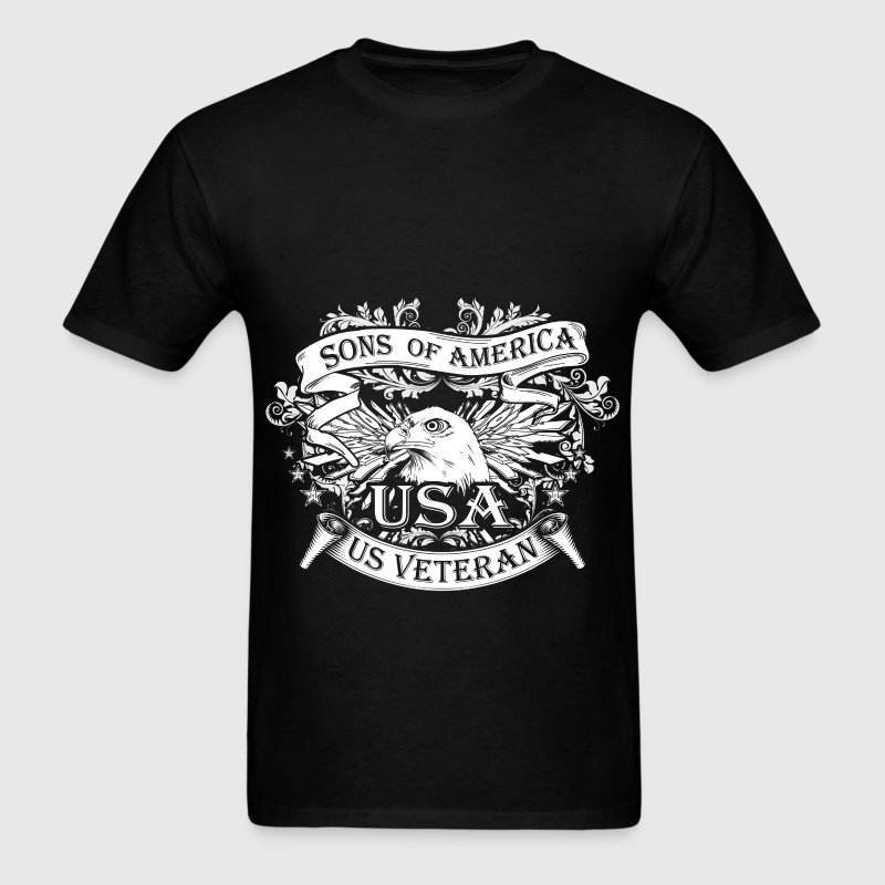 Veterans - Sons of America - Men's T-Shirt
