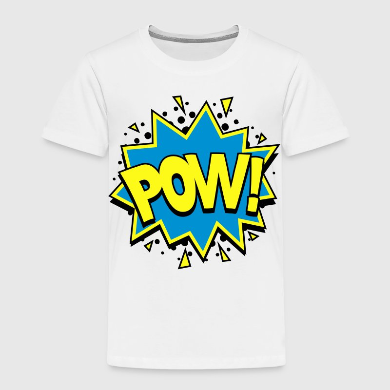 POW! Comic Style Baby & Toddler Shirts - Toddler Premium T-Shirt