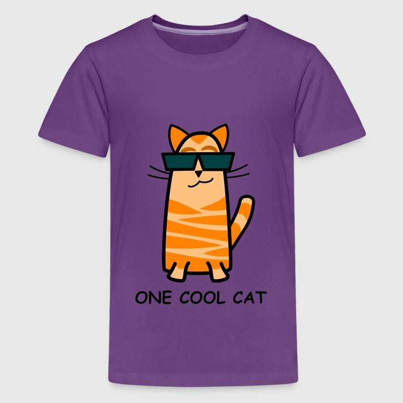 One Cool Cat Child's T-Shirt - Kids' Premium T-Shirt