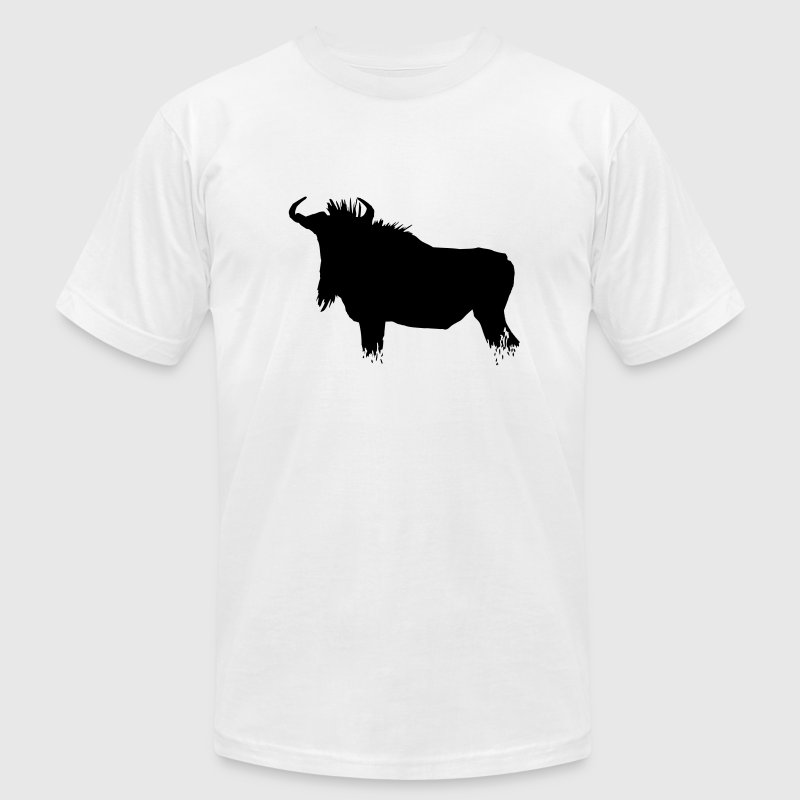 Wildebeest - Gnu T-Shirts - Men's T-Shirt by American Apparel