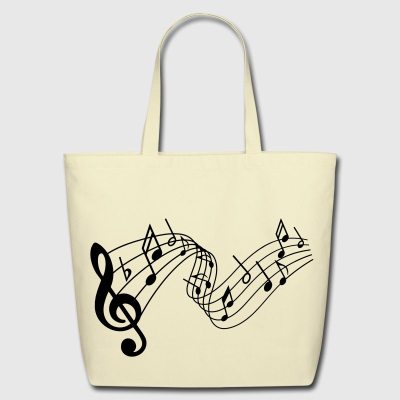 Music Bags & backpacks - Eco-Friendly Cotton Tote