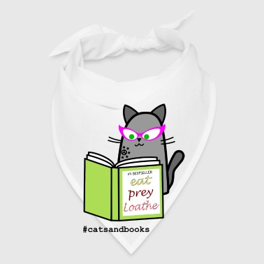 Cats and books coffee mug - Bandana
