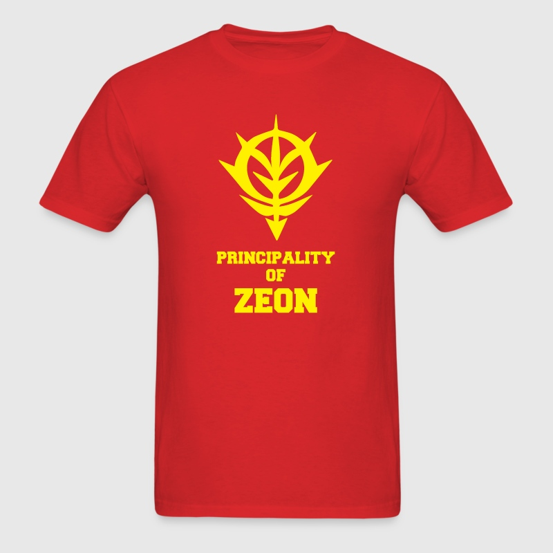 PRINCIPALITY OF zeon T-Shirts - Men's T-Shirt