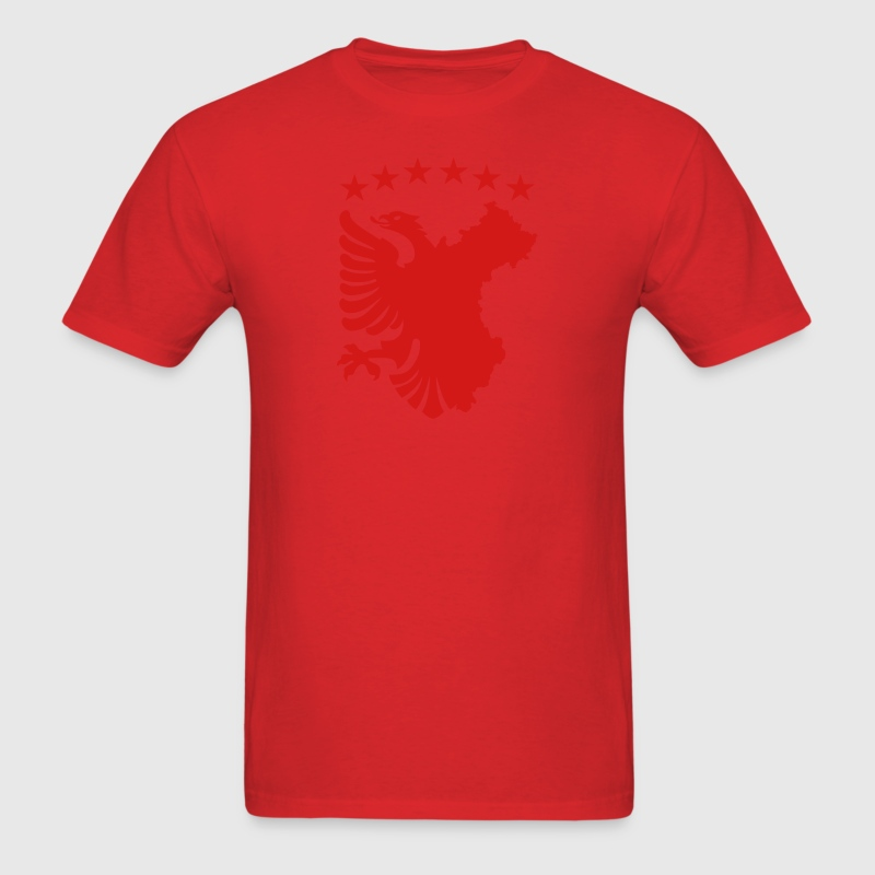 Albanian Autochthonous Flag T-Shirts - Men's T-Shirt