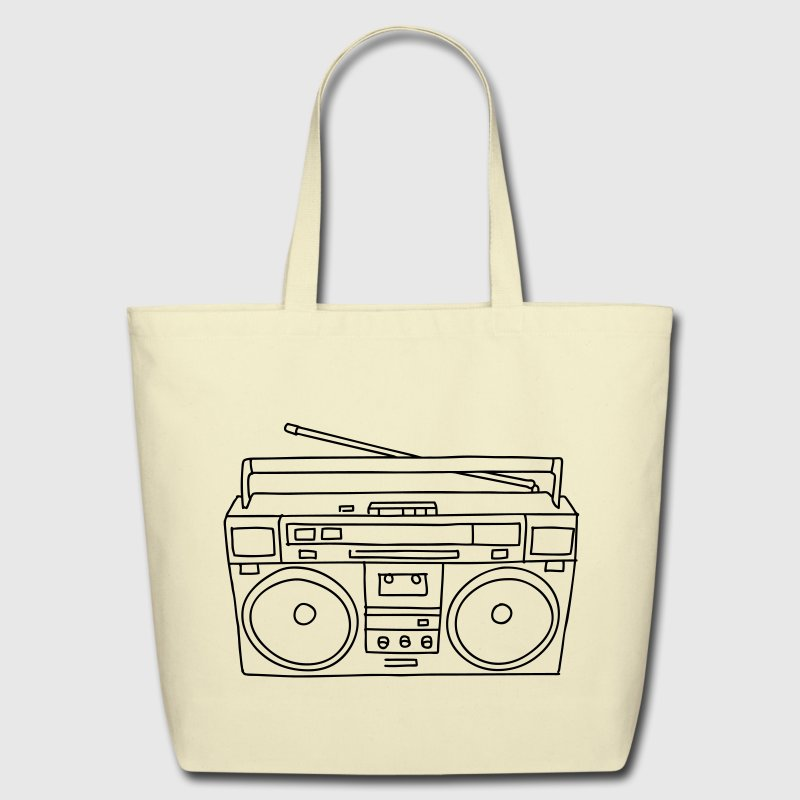 Boombox Bags & backpacks - Eco-Friendly Cotton Tote