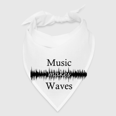 Music Makes Waves Mugs & Drinkware - Bandana