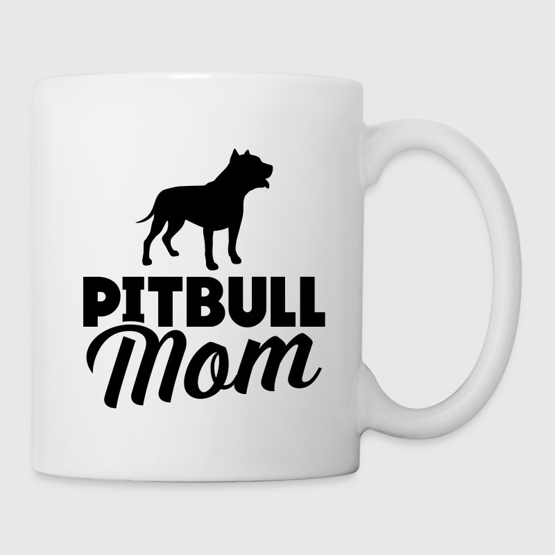 Pitbull Mom Mugs & Drinkware - Coffee/Tea Mug