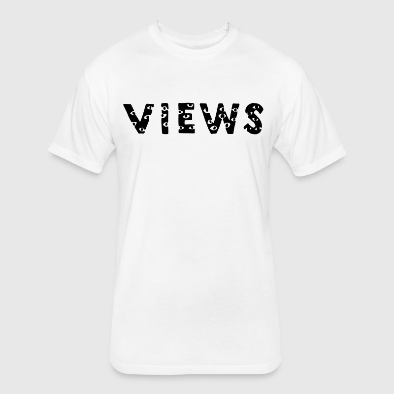 Views From The Six T-Shirts - Fitted Cotton/Poly T-Shirt by Next Level