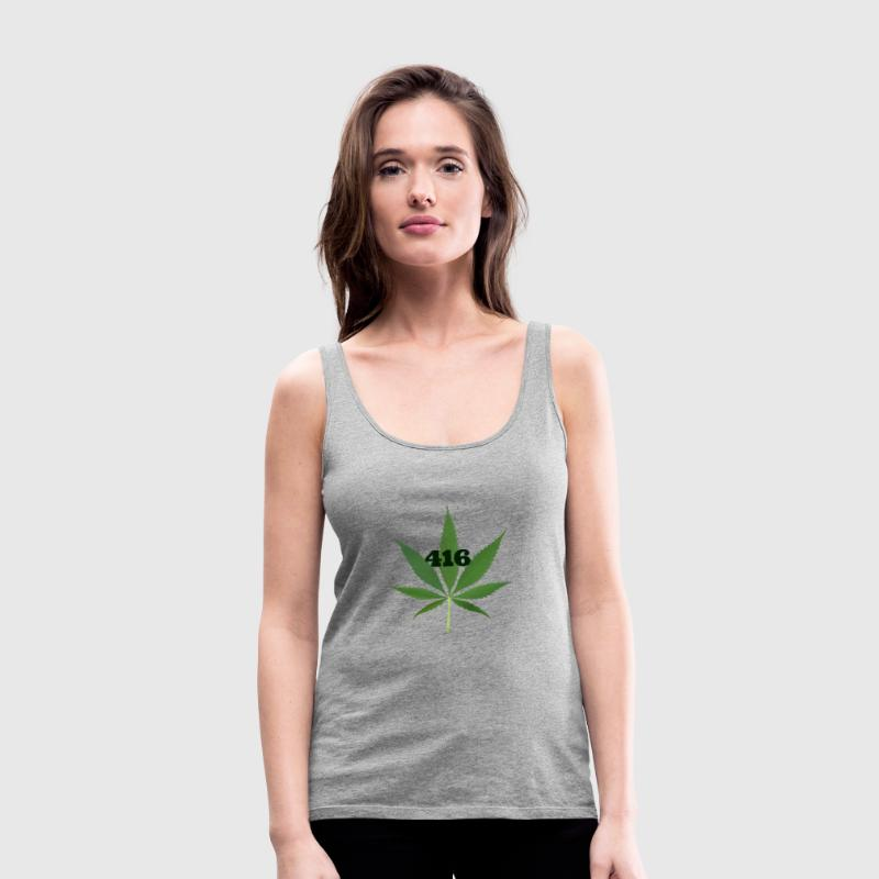 Toronto marijuana  Tanks - Women's Premium Tank Top