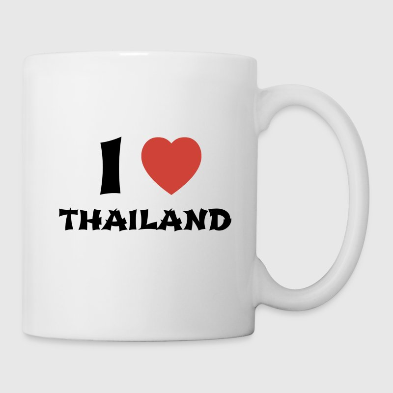 I Love Thailand Mugs & Drinkware - Coffee/Tea Mug