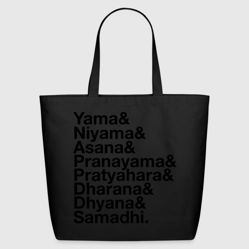 Eight Limbs Of Yoga Bags & backpacks - Eco-Friendly Cotton Tote