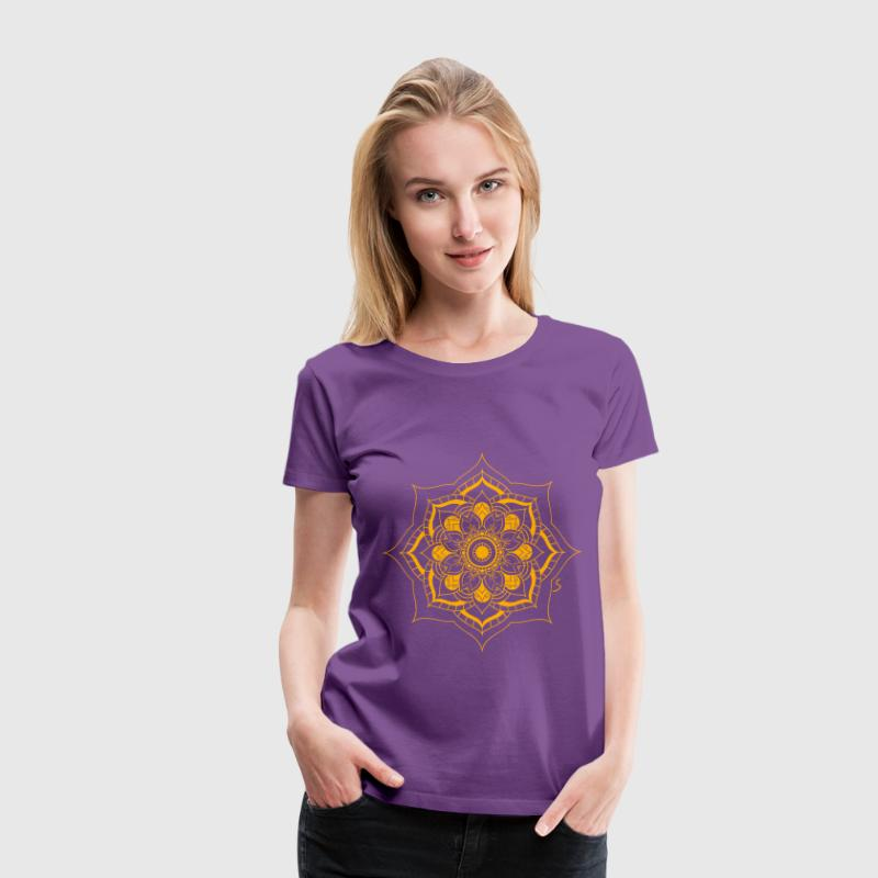 Mandala Flower - Women's Premium T-Shirt