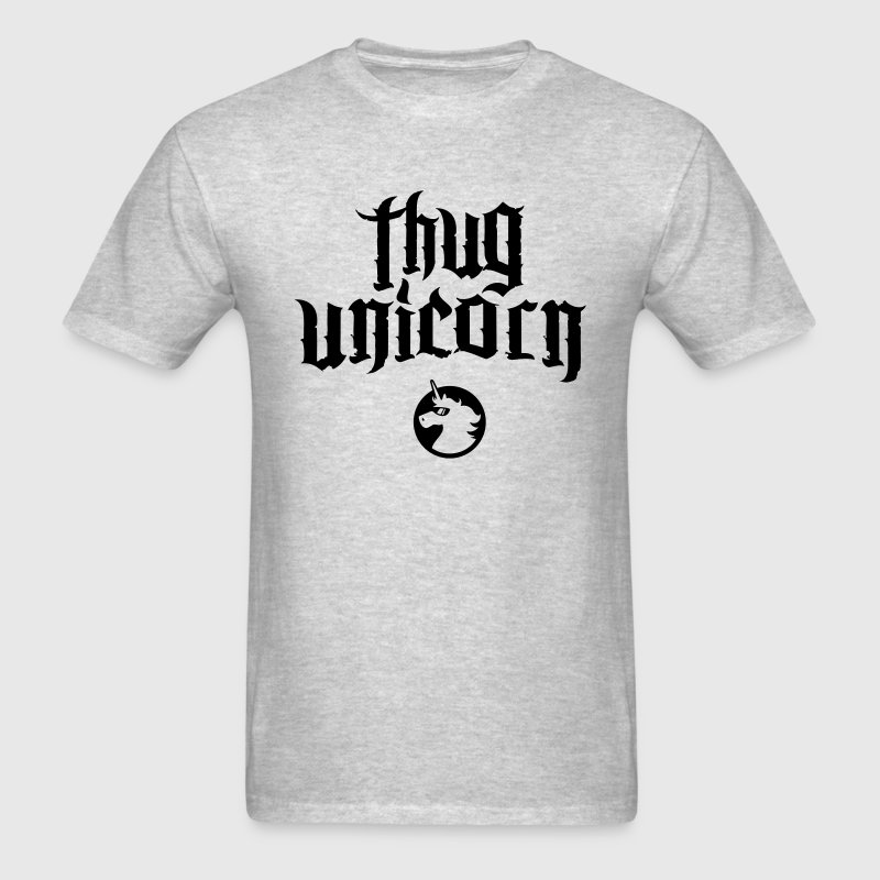 Thug Unicorn Athletic Tee - Men's T-Shirt