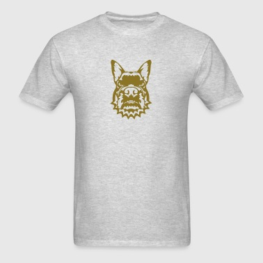 fierce bulldog dog collar 3 Sportswear - Men's T-Shirt