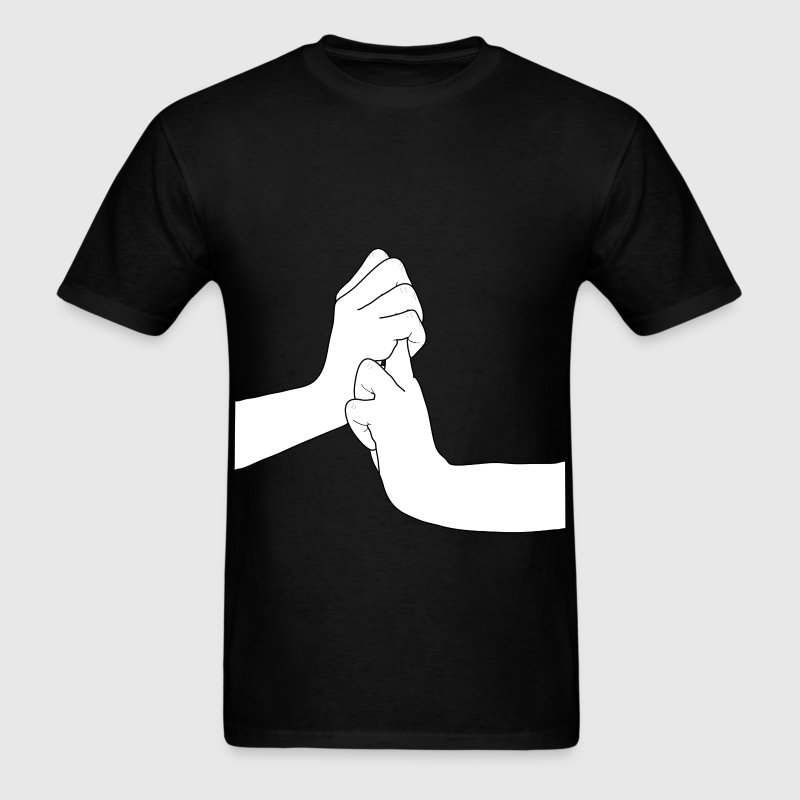 Jutsu Hand sign - Men's T-Shirt