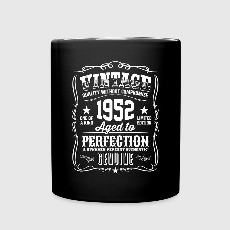 Vintage 1952 - 64th Birthday Gift Idea - Color Mug - Full Color Mug