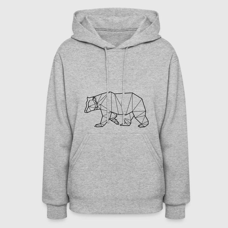 Polar Bear - Animal Prism - Women's Hoodie