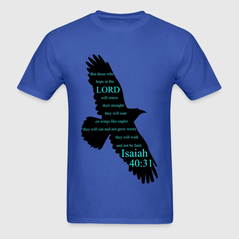 Isaiah 40:31 Eagle T-Shirts - Men's T-Shirt