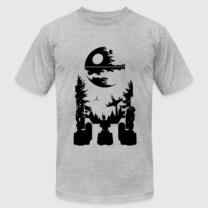 R2D2 T-Shirts - Men's T-Shirt by American Apparel