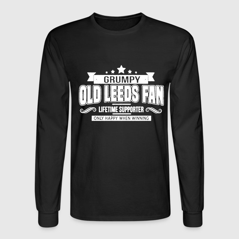 Grumpy Old Leeds Fan - Men's Long Sleeve T-Shirt