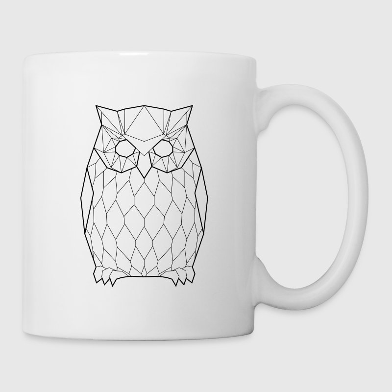 Black Owl - Animal Prism - Coffee/Tea Mug
