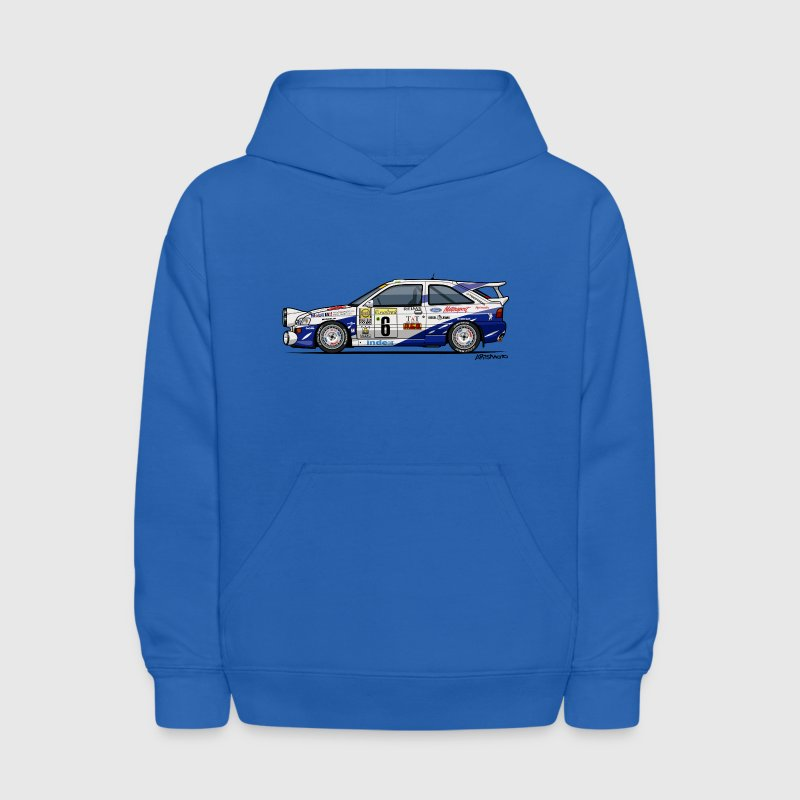 Ford Escort RS Cosworth Rally Monte Carlo Sweatshirts - Kids' Hoodie