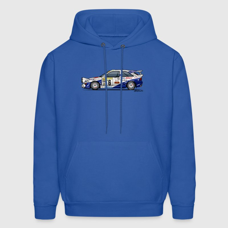Ford Escort RS Cosworth Rally Monte Carlo Hoodies - Men's Hoodie
