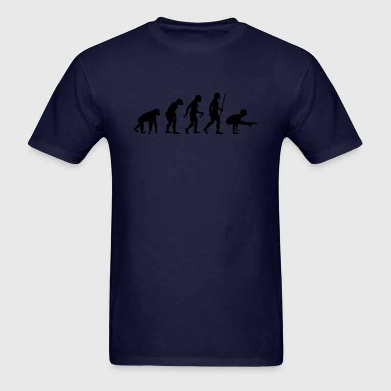 Evolution Yoga (Bhujapidasana) T-Shirts - Men's T-Shirt