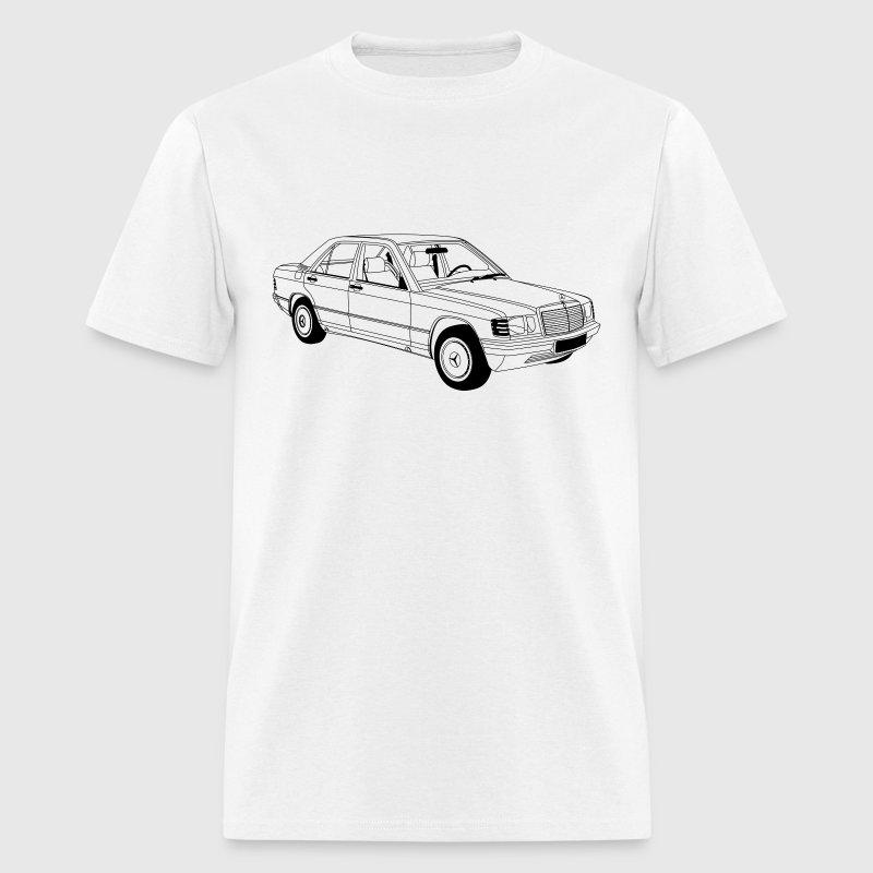 Mercedes benz w201 190e t shirt spreadshirt for T shirt mercedes benz