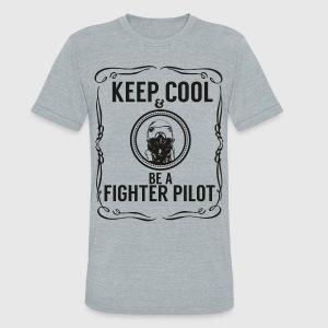 Keep cool & Fighter Pilot T-Shirt | Spreadshirt