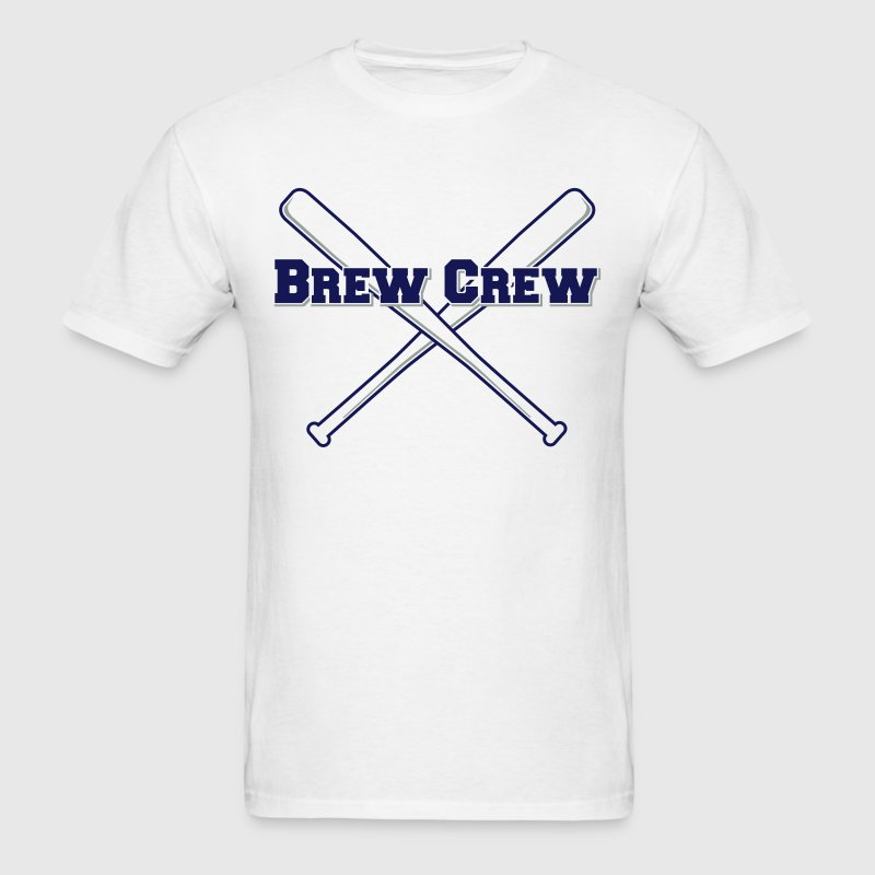 Brew Crew Baseball T-Shirts - Men's T-Shirt