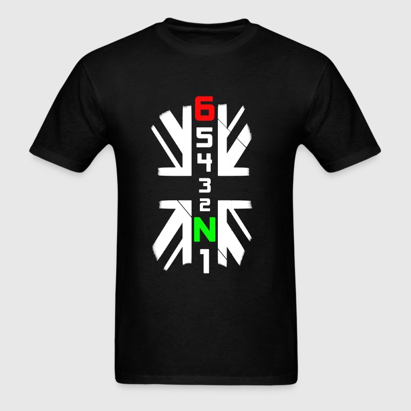 65432N1 Flag - Men's T-Shirt