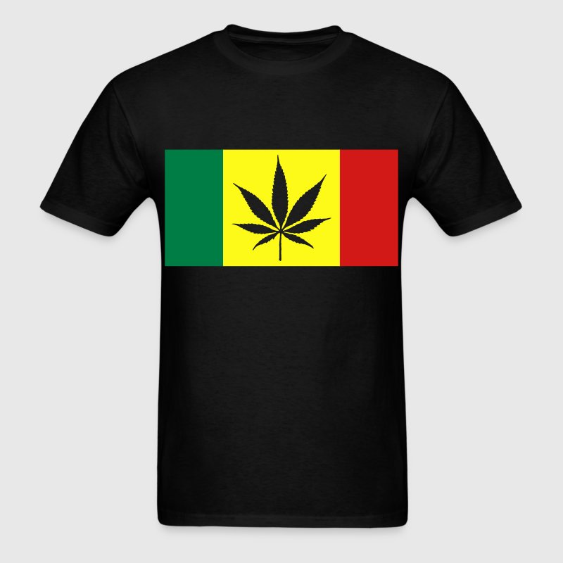 Rasta Canada flag T-Shirts - Men's T-Shirt
